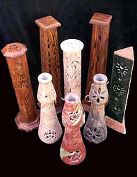 Incense Burners, Smoking Bottles, Pillars, Coffin Boxes, Ash Catchers