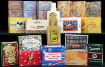 Herbal Soaps, Lotions, Shampoo & Conditioners